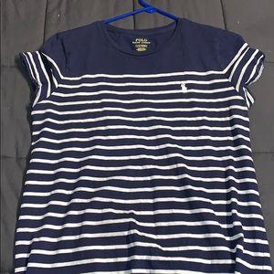Polo Ralph Lauren navy striped dress!